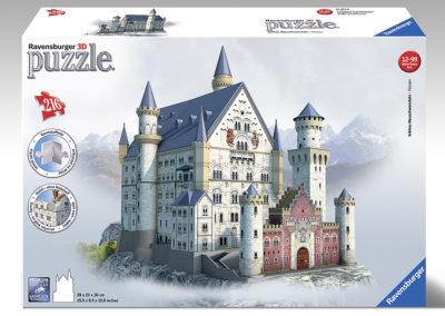 3D Puzzle Schloß Neuschwanstein