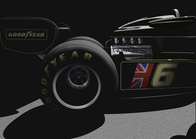 Lotus 77 Ford Cosworth V8