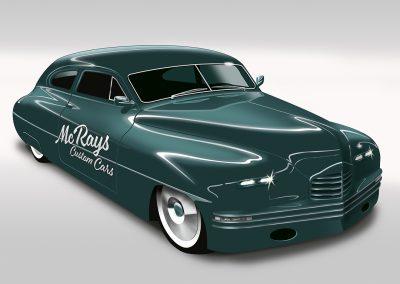 Packard Custom Car